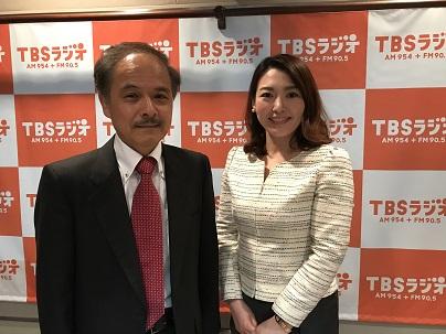 日本医科大学教授の貝瀬満先生と中澤有美子さん