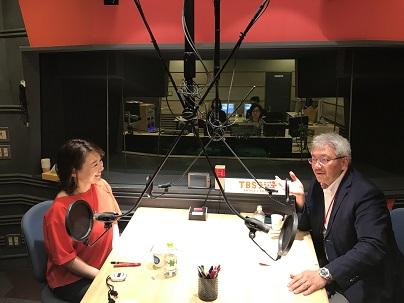 札幌医科大学の仲瀬裕志先生と中澤有美子さん