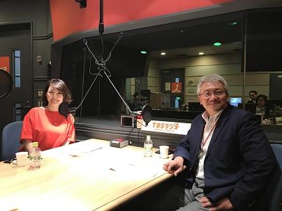 札幌医科大学教授の仲瀬裕志先生と中澤有美子さん