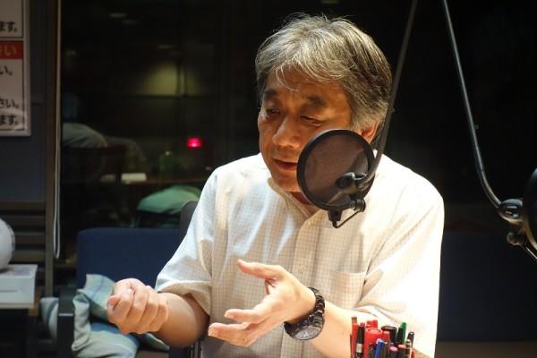 医療問題を取材するTBSの小嶋修一解説委員