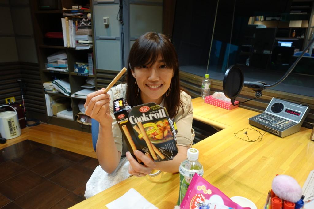 たまむすび20170801(海保&お菓子)