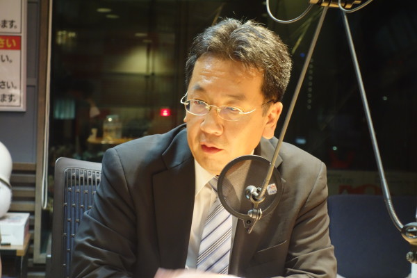 立憲民主党・枝野幸男代表