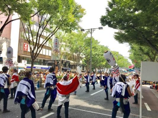 ▲「原宿表参道元気祭スーパーよさこい2017」