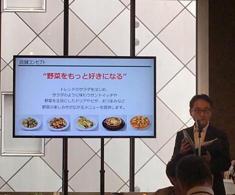 ▲トウ・アドキユーピー代表取締役社長、山本さん