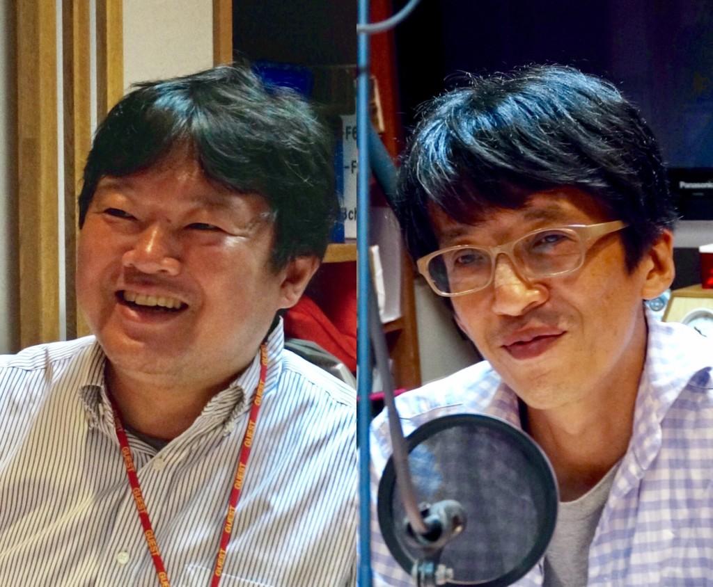 楠正憲さん&三上洋さん(撮影:ササキミチヨ)