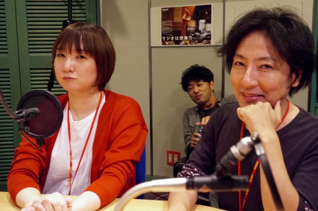 西森路代さん&海猫沢めろんさん(撮影:ササキミチヨ)