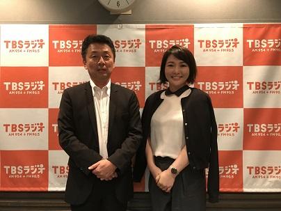 日本大学医学部教授の後藤田卓志先生と中澤有美子さん