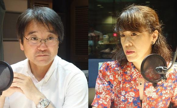 本間武蔵さんと川口有美子さん