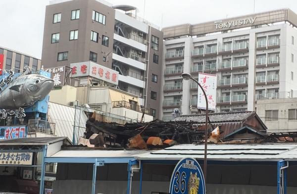 火災から2ヶ月が経ちましたがまだ現状は…。