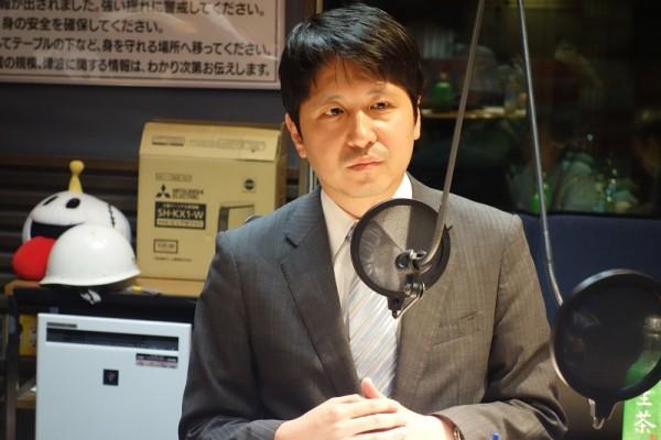 TBSテレビ政治部・岩田夏弥デスク