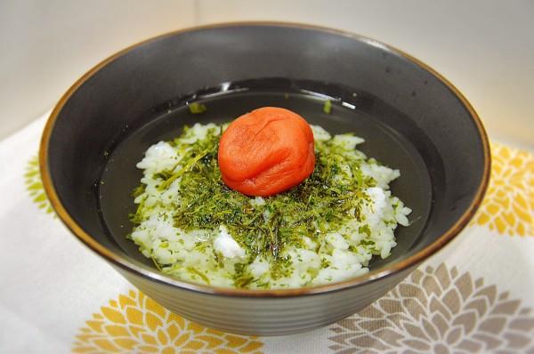 雑うまレシピ10月19日更新分(お茶っ葉茶漬け)
