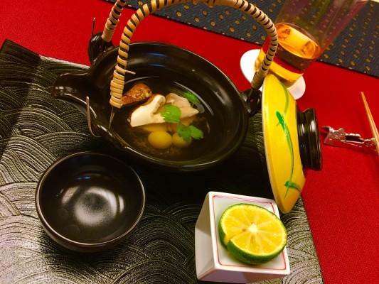 贅沢な松茸のお出汁は、何だか嬉しさが込み上げる優しい味でした。