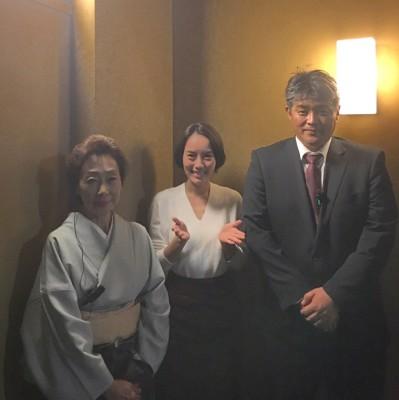 女将・河口貴子さんとオーナー・倉本勝正さん。
