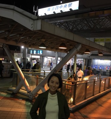京浜急行・横須賀中央駅の前で聞きました。