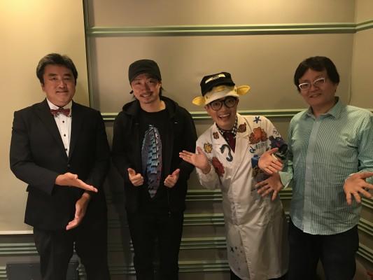 さかなクンのレッツ・ギョ〜!!にMAKIDAIさんが遊びに来てくれました