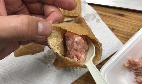 雑うまレシピ(肉いなり1)