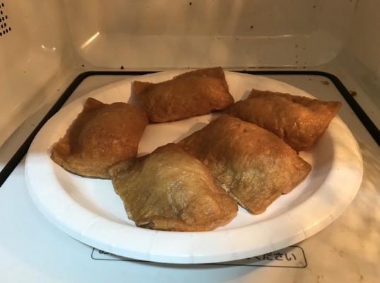 雑うまレシピ(肉いなり2)