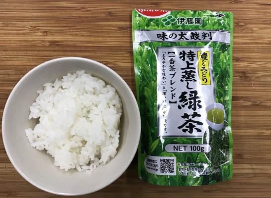 雑うまレシピ(お茶っ葉茶漬け)