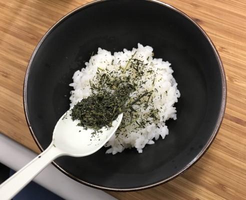 雑うまレシピ(お茶っ葉茶漬け1)