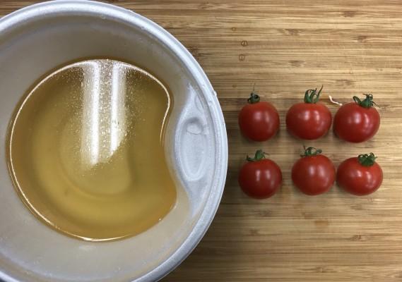 雑うまレシピ(おでんトマト)