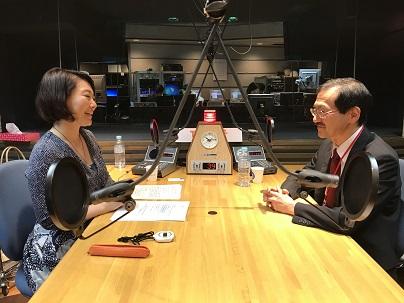東北大学病院・心療内科科長の福土審先生と中澤有美子さん
