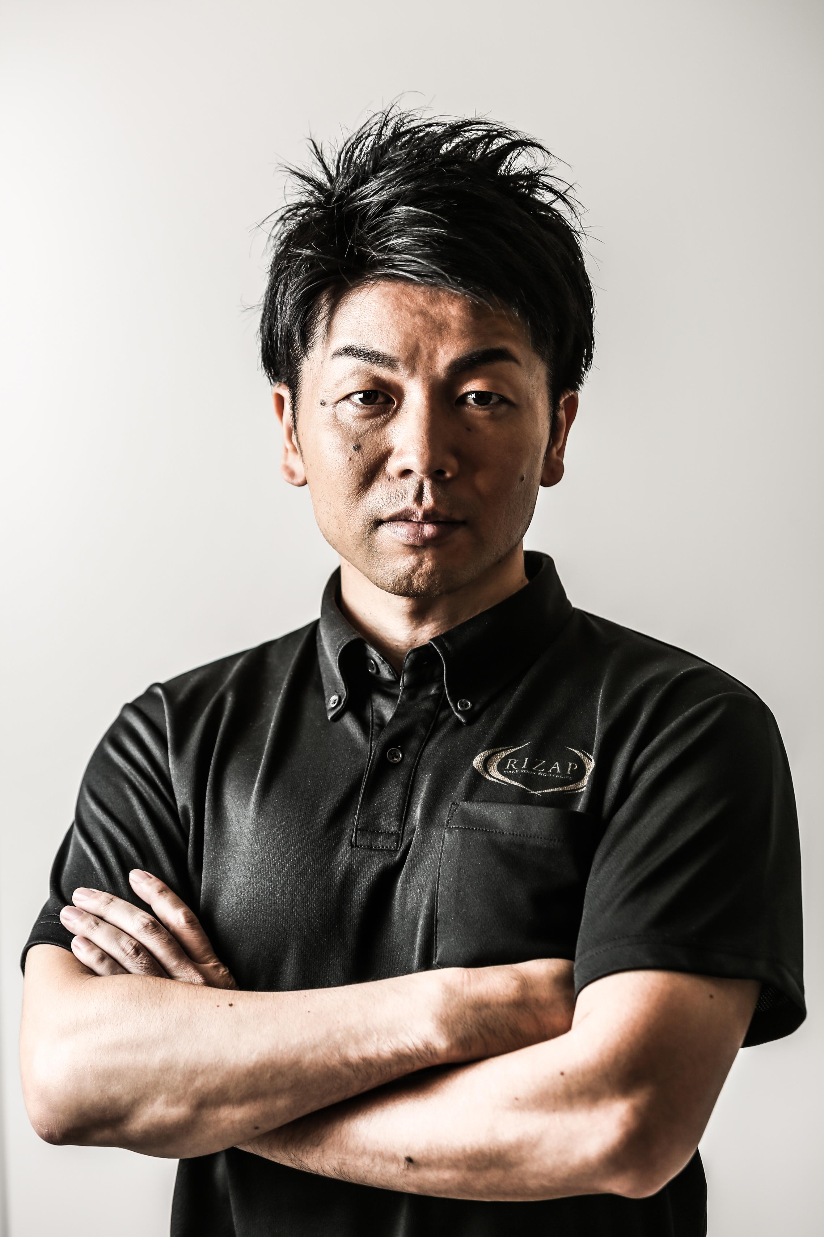 RIZAP ヘルスケア事業推進ユニット ユニット長 松崎主税先生