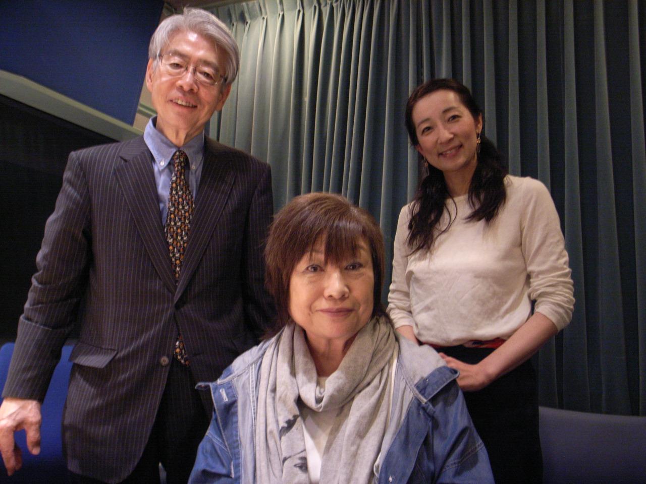 日曜夜9時半ノンフィクション作家の吉永みち子さんを迎える三夜目