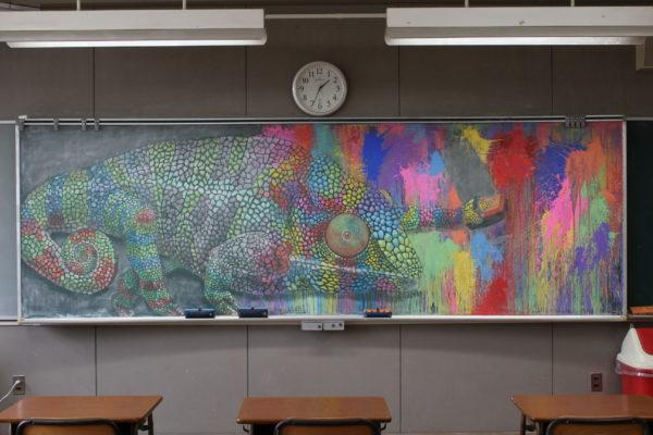 卒業 式 黒板 アート