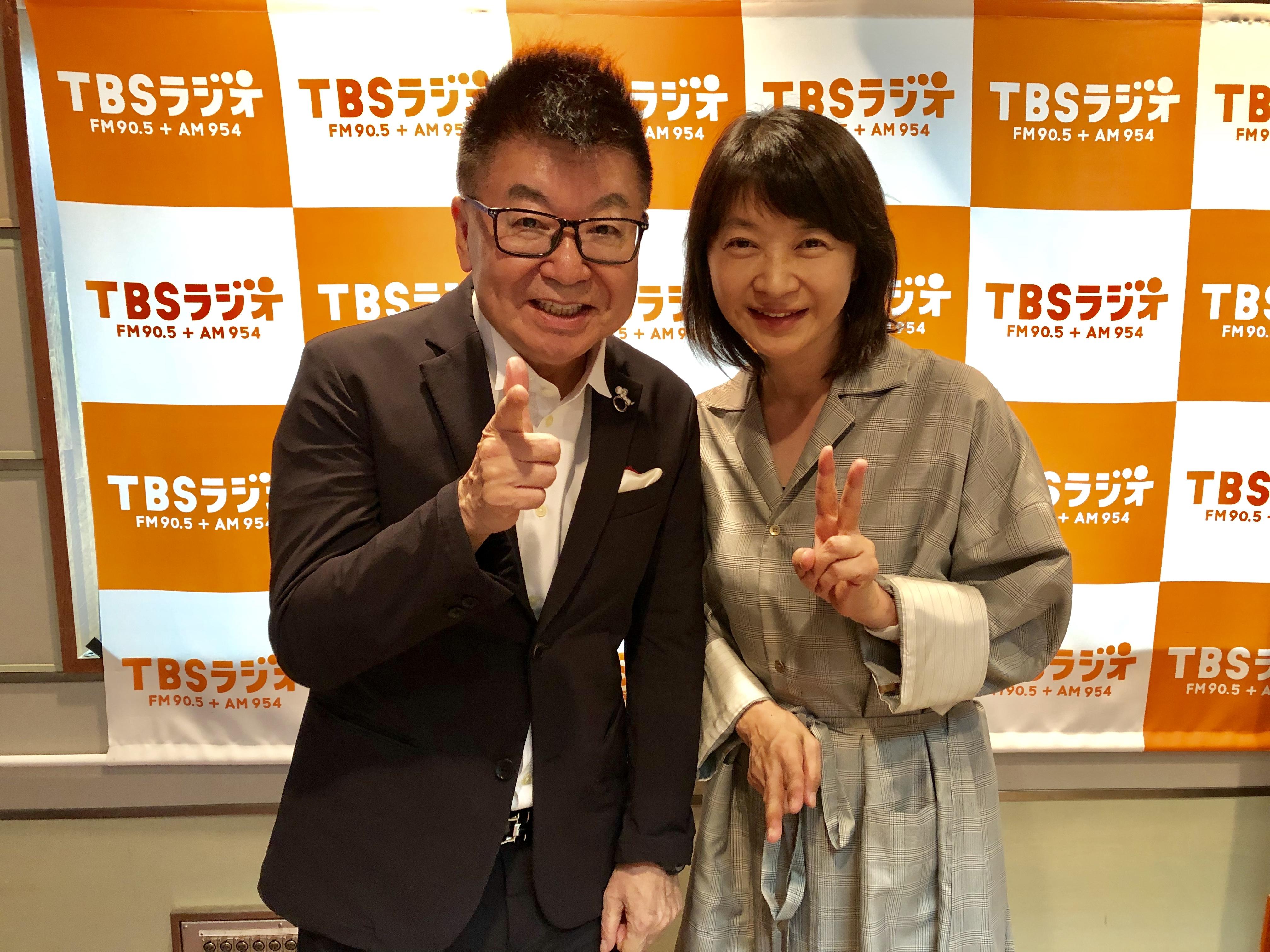 10月のゲストは、女優・田中美佐子さん!