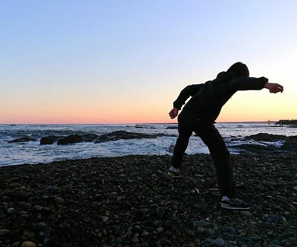 世界一のDJ松永×世界一の日本人シリーズ!今回は「水切り」世界チャンピオン