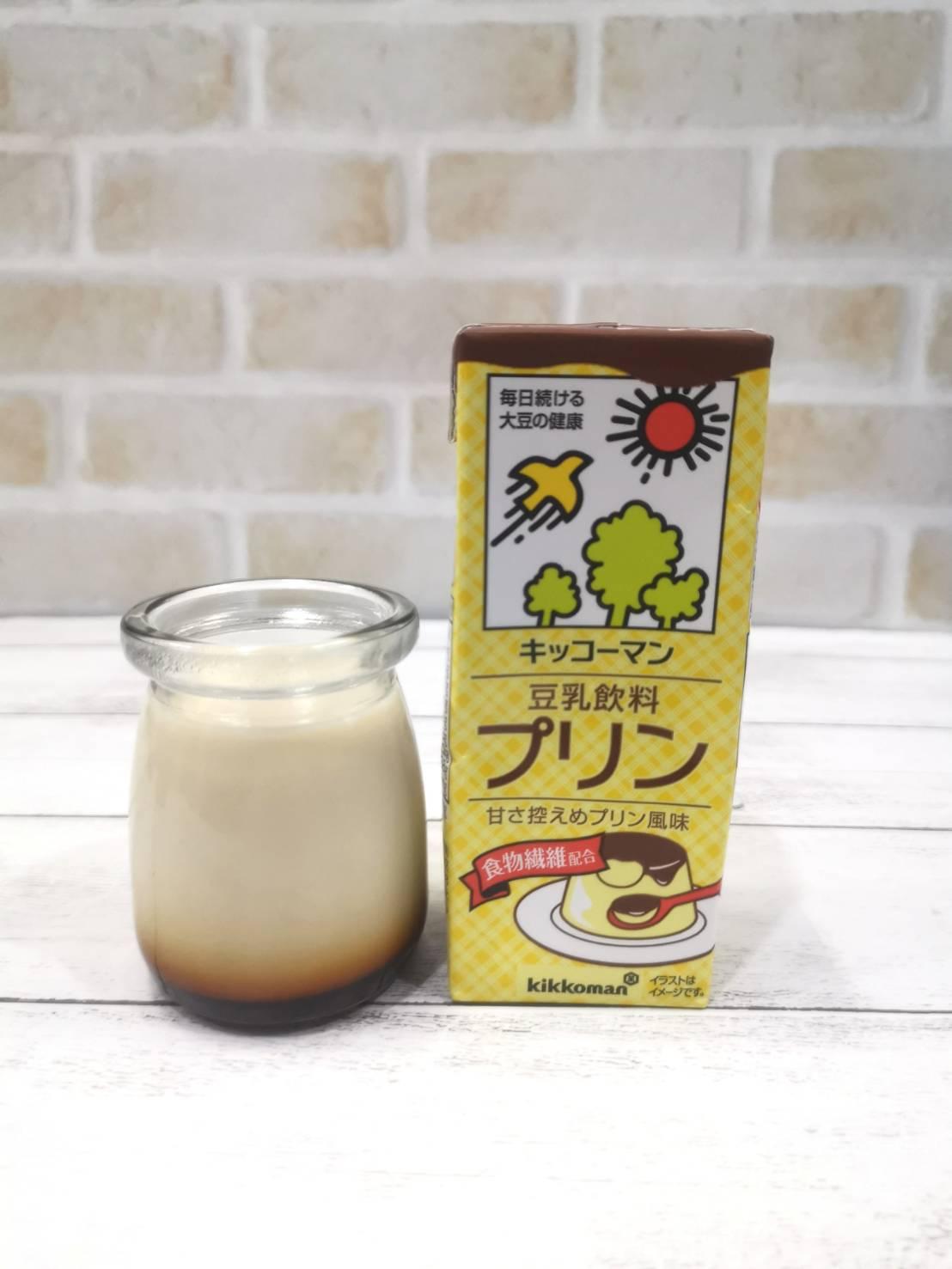 プリン レンジ 豆乳