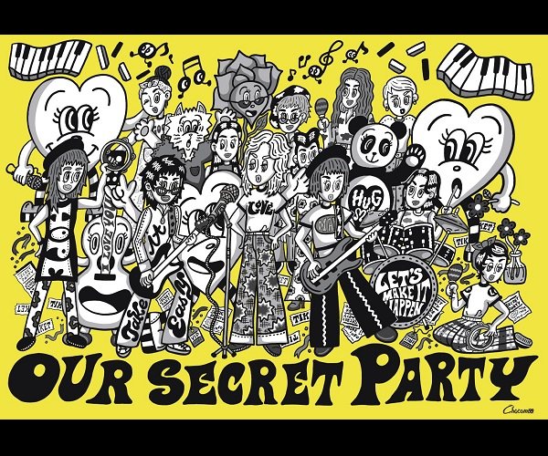 Chocomoo EXHIBITION -OUR SECRET PARTY- Supported by WITH HARAJUKU