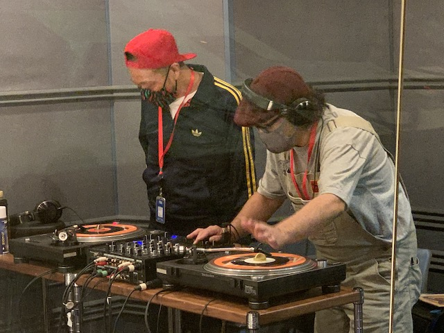 DJ NORIさんからスタート